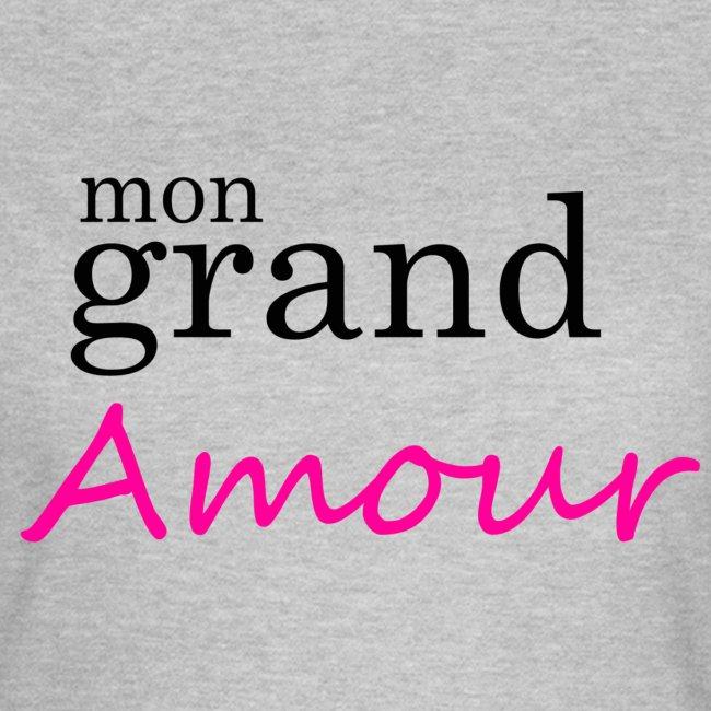 Mon grand amour