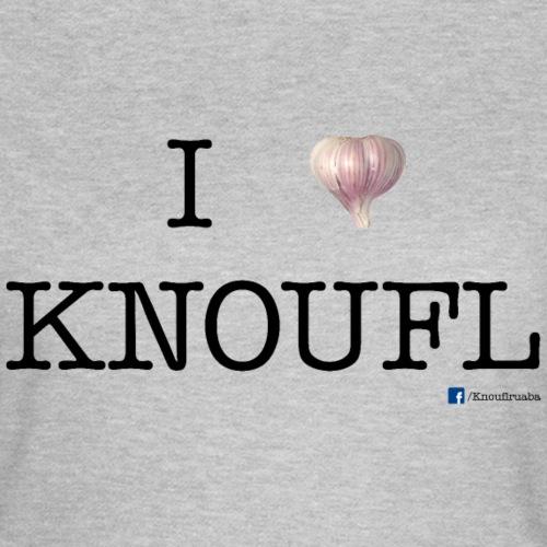 i love knoufl black - Frauen T-Shirt