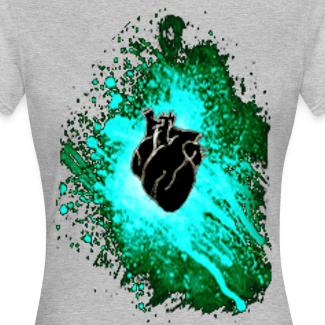 heart black n blue 3