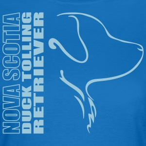 NOVA SCOTIA DUCK TOLLING RETRIEVER PROFIL - Frauen T-Shirt