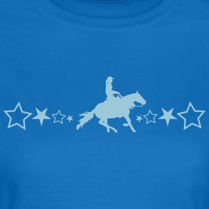 Slider horse with stars - Women's T-Shirt