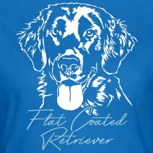 Flat Coated Retriever - Vrouwen T-shirt