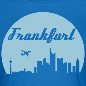 Frankfurt skyline - Women's T-Shirt