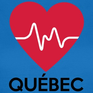 heart Québec - Women's T-Shirt