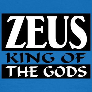 Zeus _-_ King_Of_The_Gods - Camiseta mujer