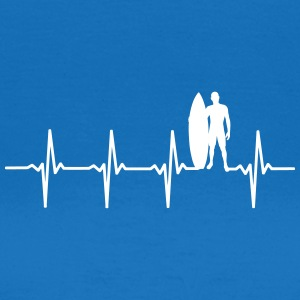 Surfer - Heartbeat Scene - Women's T-Shirt