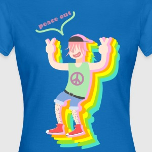 peace out guy - Vrouwen T-shirt