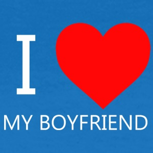I LOVE MY BF CAP - Frauen T-Shirt