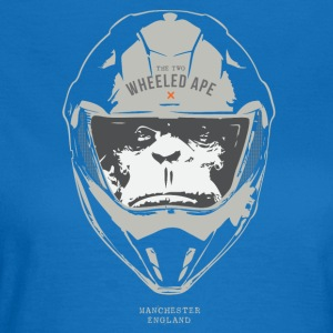 The Two Wheeled Ape Big Head Biker T-shirt - Women's T-Shirt