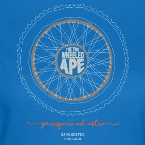 The Two Wheeled Ape Knobbly Biker T-shirt - Women's T-Shirt