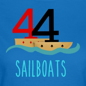 Poker 44 Sailboats - Women's T-Shirt