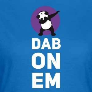 dab on Em panda dabbing Dance Football touchdown - Women's T-Shirt