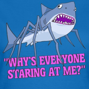 Spider Shark - Dame-T-shirt