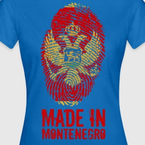 Made in Montenegro / Gemacht in Montenegro - Frauen T-Shirt