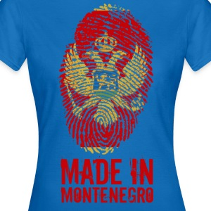 Made in Montenegro / Made in Montenegro - T-skjorte for kvinner