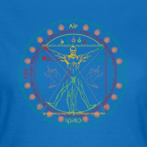 Vitruvian Cosmo Wise Man - Women's T-Shirt