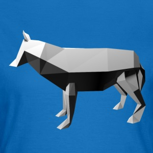 Low Poly 3D - Wolf - Vrouwen T-shirt