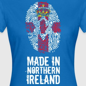 Made In Nordirland / Nordirland - Dame-T-shirt