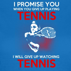 tennis lover - T-shirt dam
