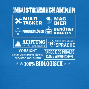 Industriemechaniker - Frauen T-Shirt