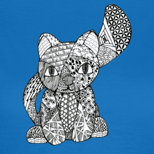 Zentangle-Kitten - Women's T-Shirt