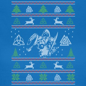Fula Christmas Vikings - T-shirt dam