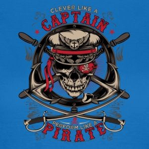 captain pirate - Vrouwen T-shirt