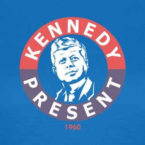 John F Kennedy For præsident - Dame-T-shirt