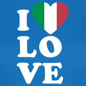 I love Italy - Women's T-Shirt