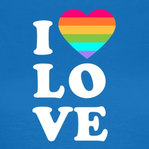 I love LGBT - Women's T-Shirt