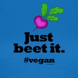 Just Beet It #vegan - Women's T-Shirt