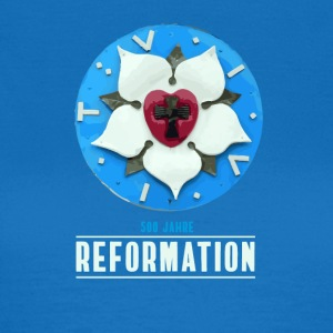 luther rose Reformation 500 Kirchentag Thesen bete - Frauen T-Shirt