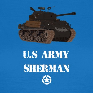 Sherman Tank WW2 - Dame-T-shirt