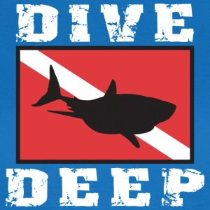 Dyka DEEP SHARK - T-shirt dam