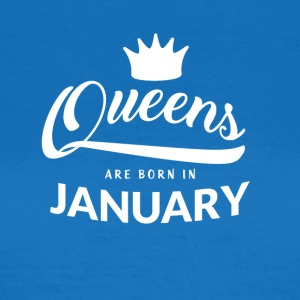 QUEENS föds i januari - T-shirt dam