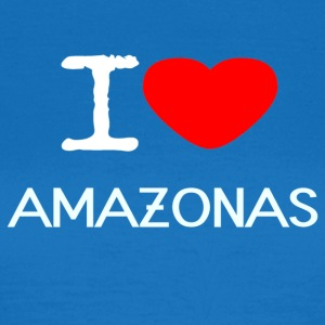 I LOVE AMAZON - Vrouwen T-shirt
