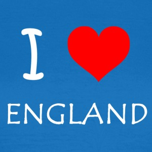 I Love ENGLAND - Frauen T-Shirt