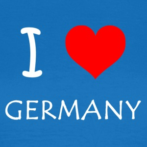 I love Germany - Frauen T-Shirt