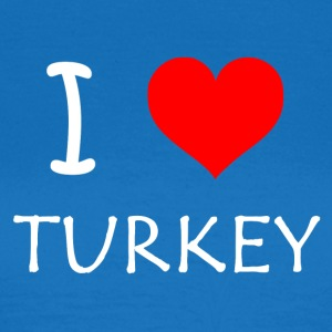 I Love Turkey - Dame-T-shirt