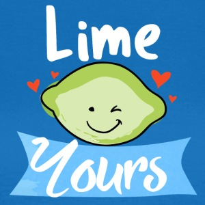 lime yours - T-skjorte for kvinner