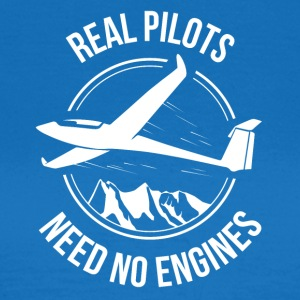 Glider - Real Pilots Need No Engine - Women's T-Shirt