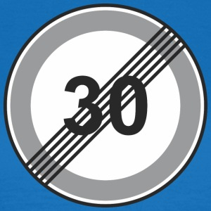 Road Sign 30 restriction - Women's T-Shirt