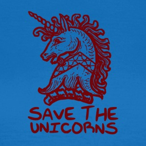 Unicorn - Save The Unicorns - T-shirt Femme