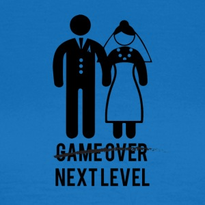 JGA / Bachelor: Game over - Next Level - Vrouwen T-shirt