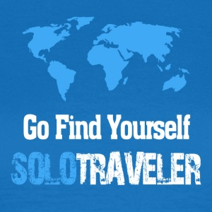 Go Find Yourself, SoloTraveler - Women's T-Shirt