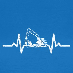 My heart beats for excavators! - Women's T-Shirt