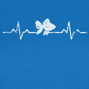 My heart beats for fish - Women's T-Shirt