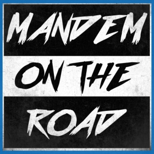 mandem_on_the_road0000 - Vrouwen T-shirt