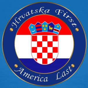 Hrvatska first - Women's T-Shirt