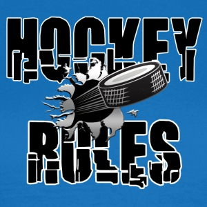 Hockey Regler - Dame-T-shirt